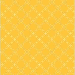 Yellow Lattice - Kimberbell Basics Fat Quarter