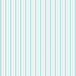 Teal Mini Awning Stripe - Kimberbell Basics Fat Quarter