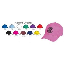 AH230 Heavy Brushed Cotton Cap - Assorted Colours