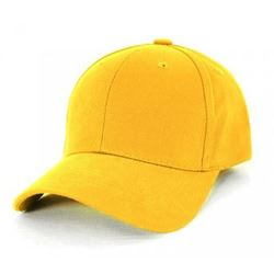 AH230 Yellow Heavy Brushed Cotton with Velcro Cap