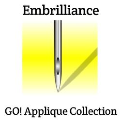 Embrilliance GO! Applique Collection - Serial Number Only