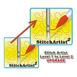 StitchArtist Upgrade - From L1 to L2 - Digitizing Software