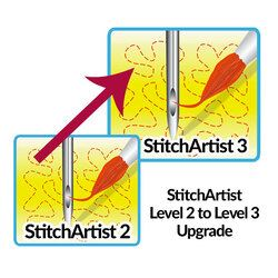 StitchArtist Upgrade - From L2 to L3 - Digitizing Software