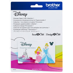 Brother Disney Princess Paper Craft Collection 1 for ScanNCut