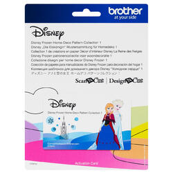 Brother Disney Frozen Home-Deco Pattern Collection 1 for ScanNCut