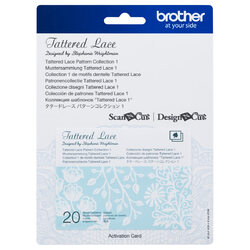 Brother Tattered Lace Pattern Collection 1 for Scan N Cut Canvas