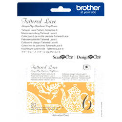 Brother Tattered Lace Pattern Collection 6 for ScanNCut