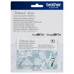 Brother Tattered Lace Pattern Collection 7 for ScanNCut