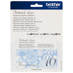 Brother Tattered Lace Pattern Collection 10 for ScanNCut