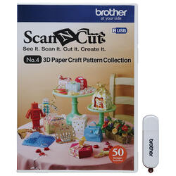 ScanNCut - USB No.4 3D Craft Paper Collection