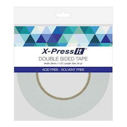 Double Sided Tape Narrow - Clear 6mm
