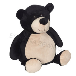 Embroider Buddy - Billy Black Bear 16 inch