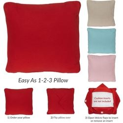 Embroider Buddy Cushion Cover - Various Colours
