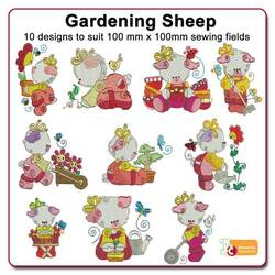 Gardening Sheep by Echidna Designs Download