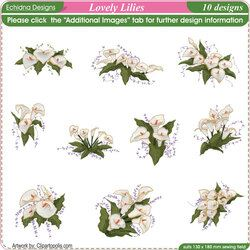 Lovely Lilies by Echidna Designs Download