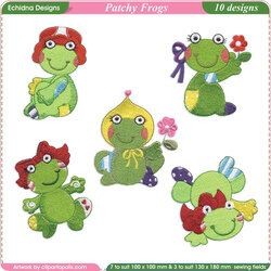Patchy Lady Frogs by Echidna Designs Download