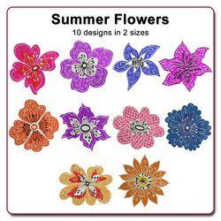 Summer Flowers by Echidna Designs Download