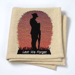 Anzac Embroidery Design Download