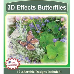3D Effects Butterflies