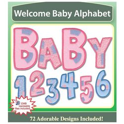 Welcome Baby Alphabet