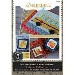 Machine Embroider by Number: Autumn Collection CD