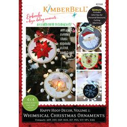 Happy Hoop Decor - Volume 1: Whimsical Christmas Ornaments Project CD