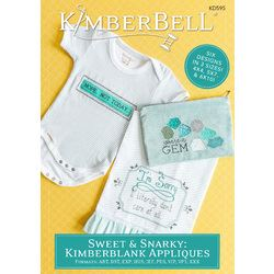 Sweet n' Snarky: Kimberblank Appliques