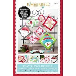 That's Sew Chenille: Christmas Hot Pads Sewing Project Book