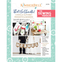 That's Sew Chenille: Chenille Alphabet Pennants & Banners Sewing Project Book