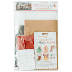 Ginger's Kitchen Bench Pillow Embellishment Kit