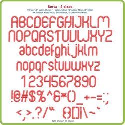 Berta BX Font - Various Sizes - Download Only