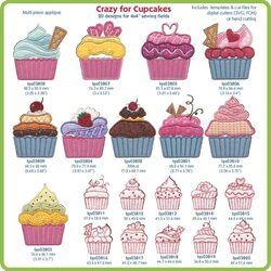 Crazy For Cupcakes by Lindee Goodall