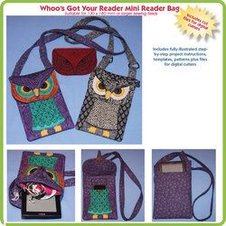 In The Hoop - Mini Reader Owl Project