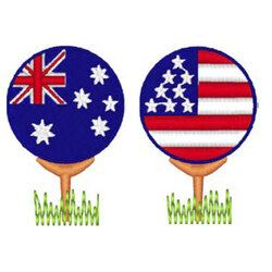 Patriotic Golfball - Download only