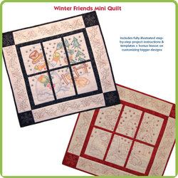 Winter Friends Mini Quilt