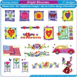 Bright Blossoms by Morango Designs