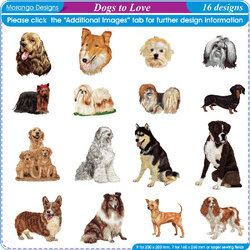 Dogs to Love by Morango Designs
