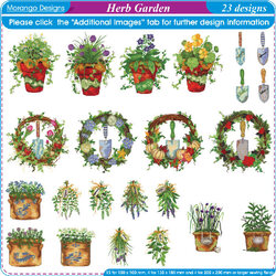 Herb Garden by Morango Designs