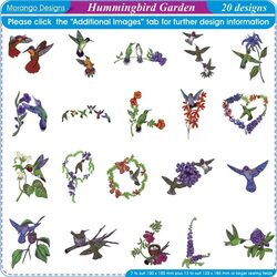 Hummingbird Garden by Morango Designs
