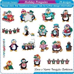 Holiday Penguins by Morango Designs Download