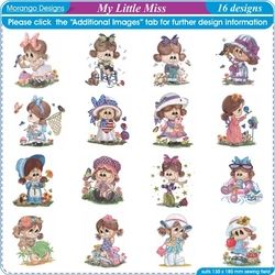 My Little Miss by Morango Designs CD
