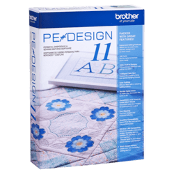 Brother PE-DESIGN 11 Embroidery Software 882Y1070111
