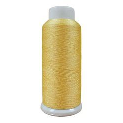Softlight Metallic Lemon Ice 1500m Embroidery Thread