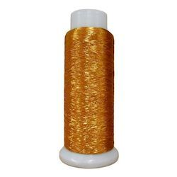 Softlight Metallic Pure Old Gold 1500m Embroidery Thread