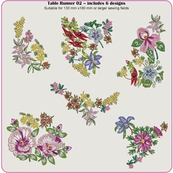 Sketches Table Runner 2 by Dawn Johnson CD
