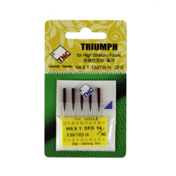 TNC Purple Tip Embroidery Needle suitable for Janome #90/14 5PK