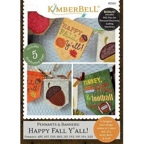 Pennants and Banners: Happy Fall Y'All Project cd