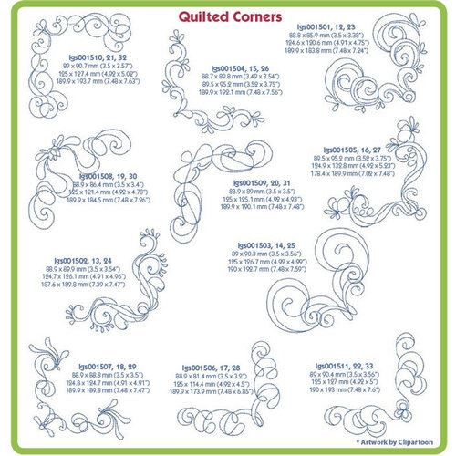 Quilted Corners - CD
