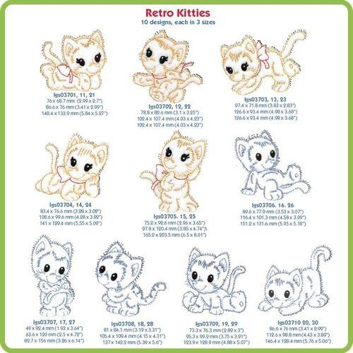 Retro Kitties - CD