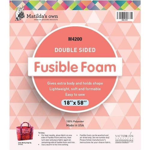 Double Sided Fusible Foam - 18x58inches